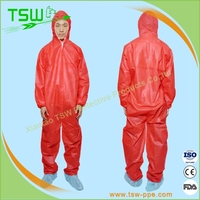 Disposable PE material waterproof rain poncho with hood
