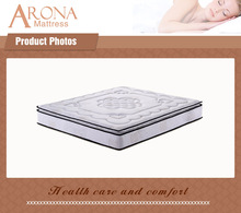 30 Inch Vacuum Packing Luxury 5 Star Hotel Hilton King Size Pillow Top Tape Well Coil Pocket Spring Mattress