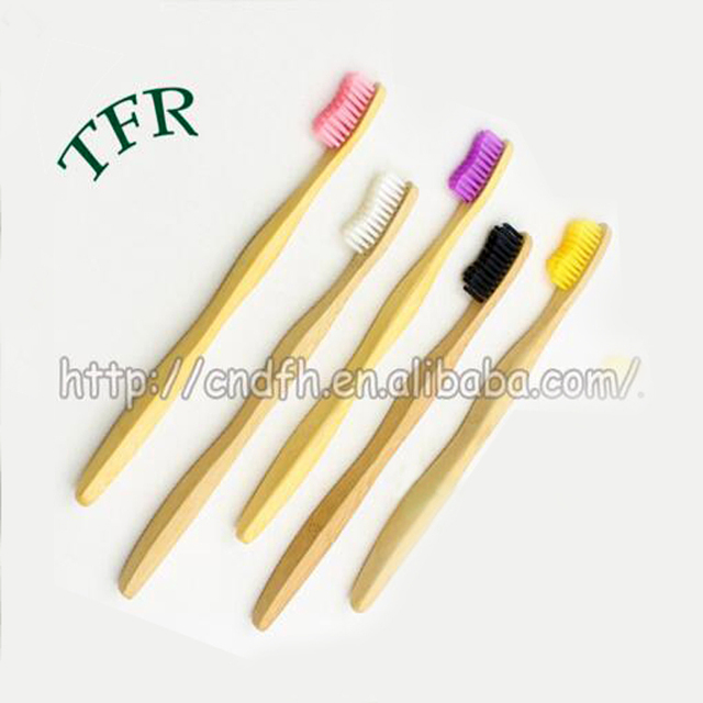 LFGB CE Free sample OEM 100% biodegradable wholesale cheap bamboo tooth brush