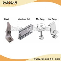 10KW Pitched Tin Roof Solar PV Mounting Bracket System