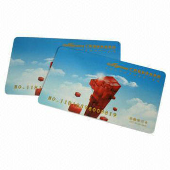 Special Designed Study Card with Kinds of Crafts Embossing Number, Barcode and More