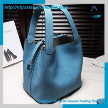 Alibaba China Hot Selling PU Leather Cute Design Cheap Elegance Tote Hand Bag for Women