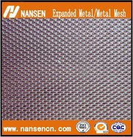 construction expanded hexagonal aluminum metal mesh with ISO Certificate