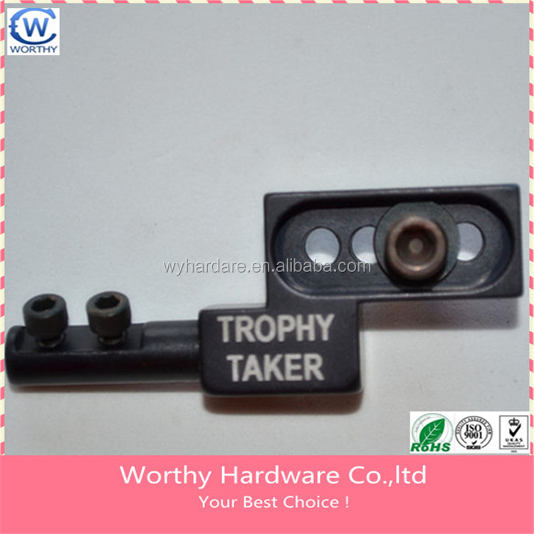 masss production customized cnc machining metal part marking machine