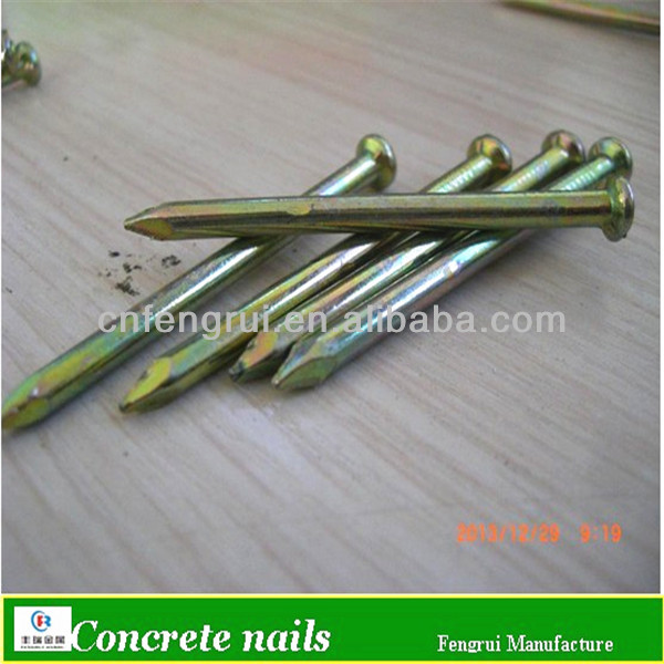 Hot-dipped galvanized stainless steel concrete nail