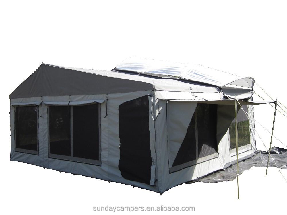 Fantastic  Powder Coating Camper Trailer 38ft Camper Trailer Tent Model Ctt6004fa