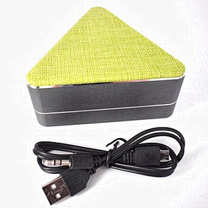 For Mobile Phone Fabric Cloth Mini Wireless Speaker
