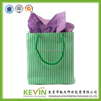 small MOQ your design colored paper bag for gift