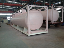 ISO fuel tank container 20ft with csc Certificate