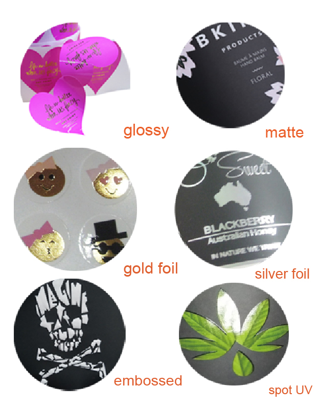 Adhesive Paper Roll Custom Printed Labels For Plastic Bags