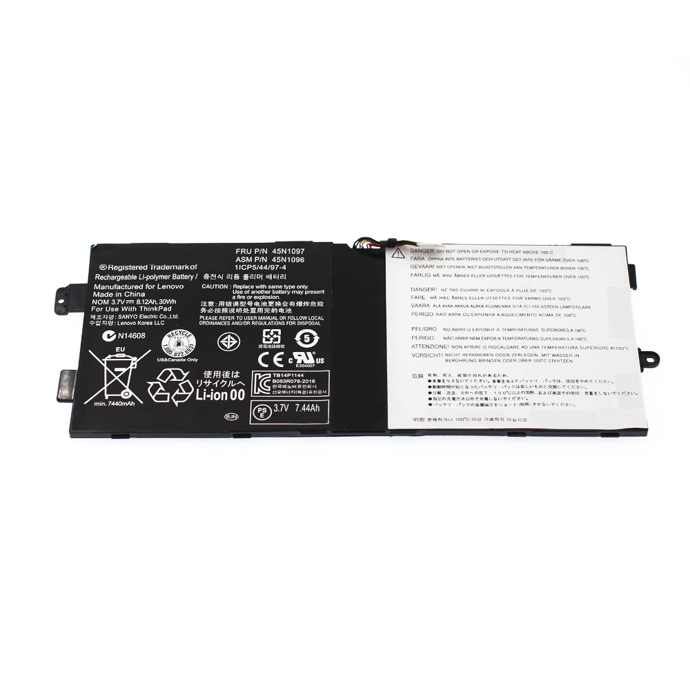 "30Wh 3.7V 8120mAh Genuine replacement lipo battery for IBM lenovo thinkpad Tablet 2 10.1"" 45N1907 45N1906"