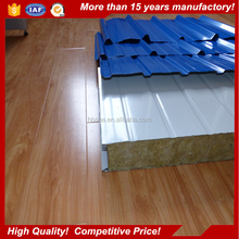 Top Quality eps /pu/rock wool roof sandwich panel had made with Free Samples
