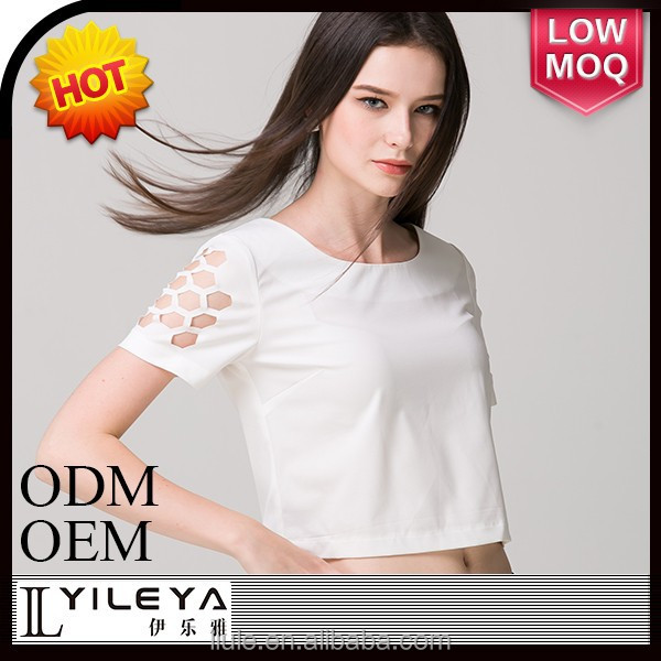 2014 summer new design fashion models chiffon blouses slim elegant custom woman t-shirts sexy