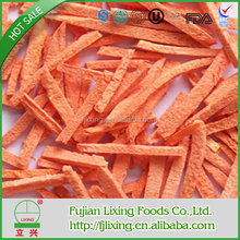 HEATHY FOOD FREEZE DRIED CARROT STRIPS - 2017 TOP SELLING FOOD