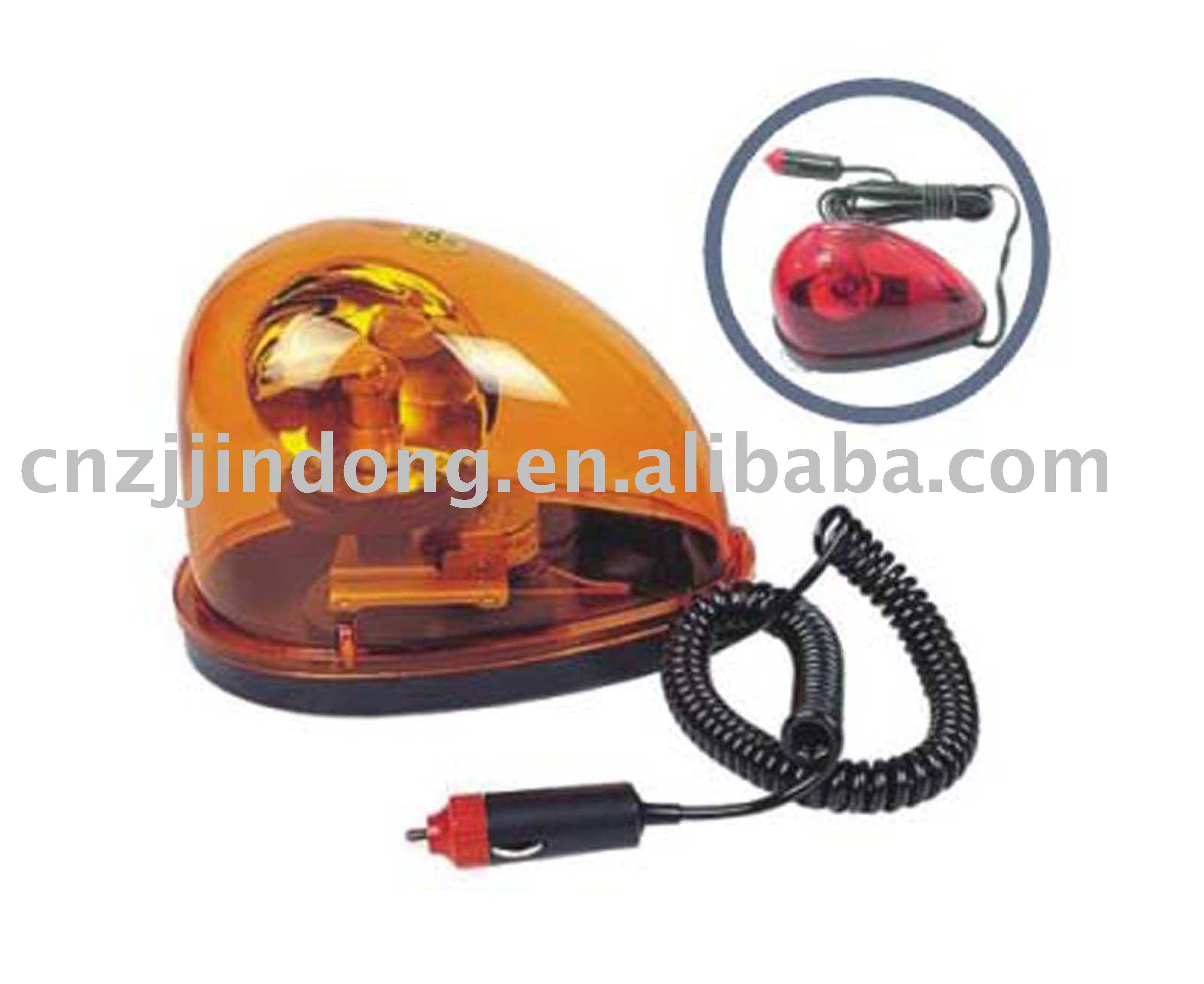halogen bulb use 2m cord automotive car warning light