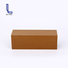 Formaldehyde-free wpc square timber wood composite tube