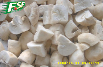 2016 new corp IQF Champignon Mushrooms quarter