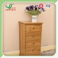 good quality bedroom clothes storage wooden cabinet 5 chest of drawers