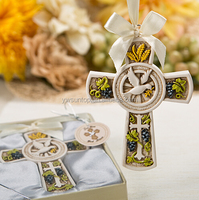 Holy Natures Harvest Themed Cross Ornament From Fashion Craft