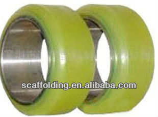 Nichiyu forklift polyurethane press on tyre