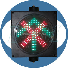 Top sale arrow cross led traffic signs