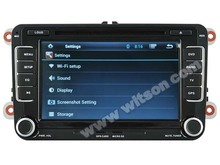 WITSON ANDROID 4.2 CAR DVD GPS NAVIGATION VW GOLF 6 2006-2012 WITH 1.6GHZ FREQUENCY DVR SUPPORT RAM 8GB FLASH BLUETOOTH GPS WIFI