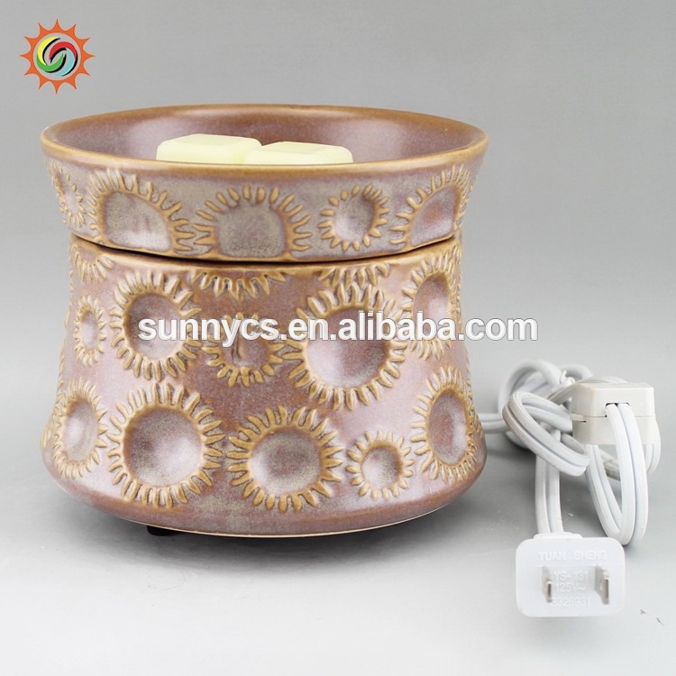 Factory direct supply set candle oil warmer wholesale tart warmers with high quality
