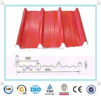 Prepainted corrugated steel roofing sheet roofing tiles in China Manufacture
