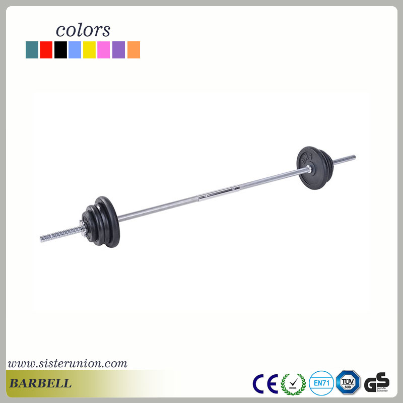 Factory popular wholesale 50mm sleeve dia weight barbell bar