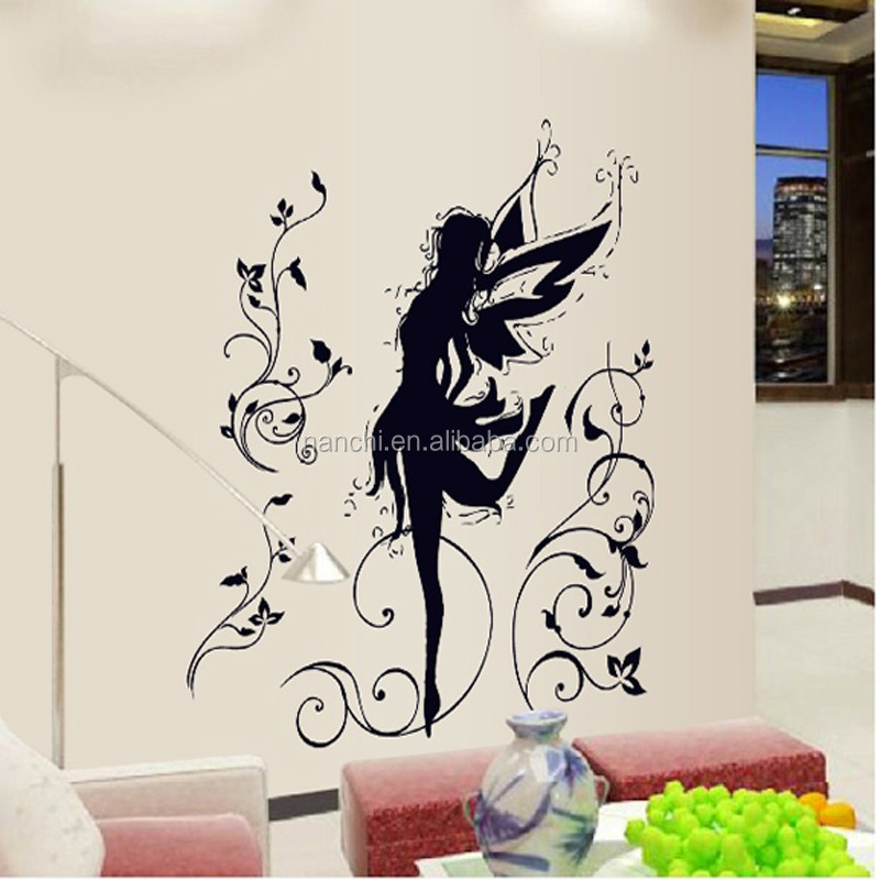 Дизайн стен трафарет 30