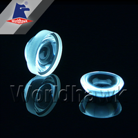 fused silica quartz plano-convex aspherical lens