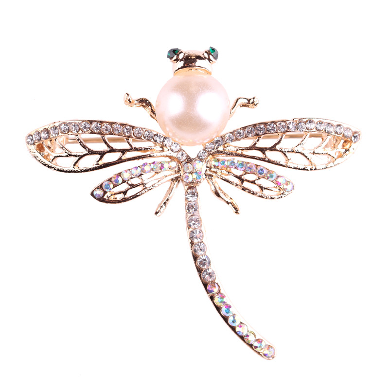 New Arrival Jewelry Brooch pins large brooches for women dragonfly Pattern lapel enamel pin