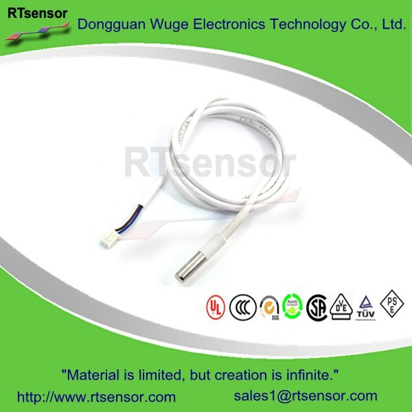 Thermistor Temperature Measuring NTC Thermal Sensor Probe 1 Meter