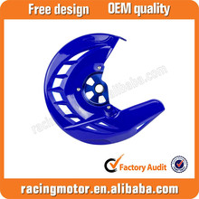 Motocross Parts X-Brake Blue Front Brake Disc Cover w/ Mounting For Yamaha YZ125 YZ250 2008-2015
