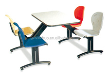 Factory School Canteen Furniture for Four Students Eating Table SZ-C001
