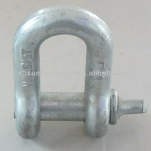 high quality G210 Shackle Screw Pin Chain Shackle;chain shackle for connection; d shackle, bow shackle, anchor shackle