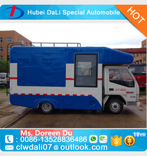 JBC Street food carts Small cargo vans vending trucks