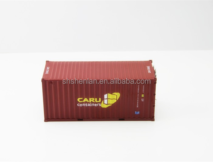 ABS 20 feet 1:20 scale Container model