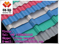 Galvanized / Galvalume corrugated color steel plate / tiles /sheet
