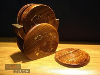 Cup Coasters (wood craft)