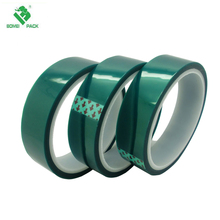 PET green tape powder coating masking tape