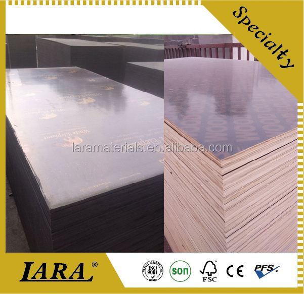 black film faced plywood/concrete mould plywood panel,Fanera,Tego plywood
