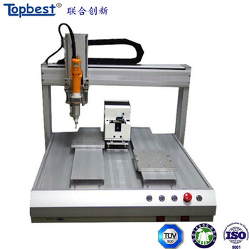 Electronic assembly line for screw tightening screwdriver robot
