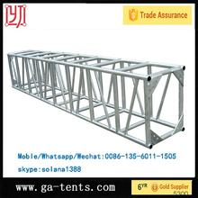 Circular aluminum lighting truss system for fashion shows