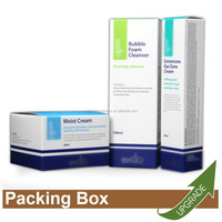 Hong Kong Manufacture Modern Design Packing Gift Set Beauty Paper Cosmetic Box