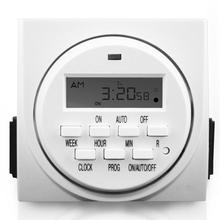 Honest Supplier SINOWELL 7-Day Weekly Dual Outlet Digital Timer