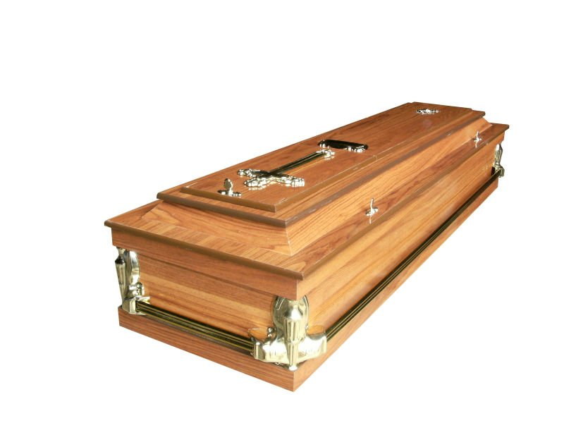 Flat pack Coffin