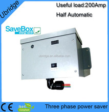 200AMP 9V-450V Universal Intelligent Power Saver Commercial Electricity Saver box