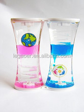 Floating Hourglass, Liquid Sand Timer