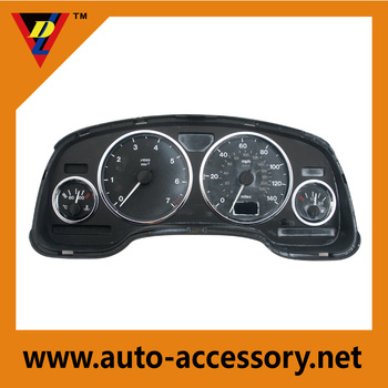 Chrome interior accessories car dashboard decorations rings for Vauxhall OPEL Astra G